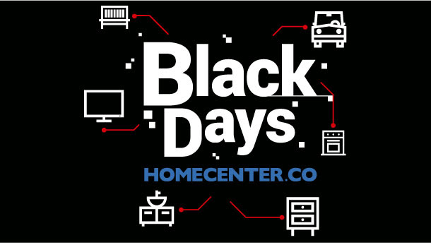 ¡Ya empezó! Vive los Black Days con Homecenter